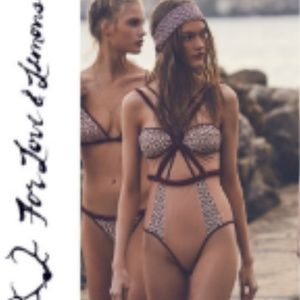 For Love and Lemons Samba one piece